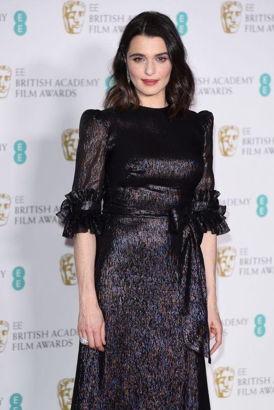 RACHEL WEISZ at BAFTA Film Awards 2018 in London 02/18/2018