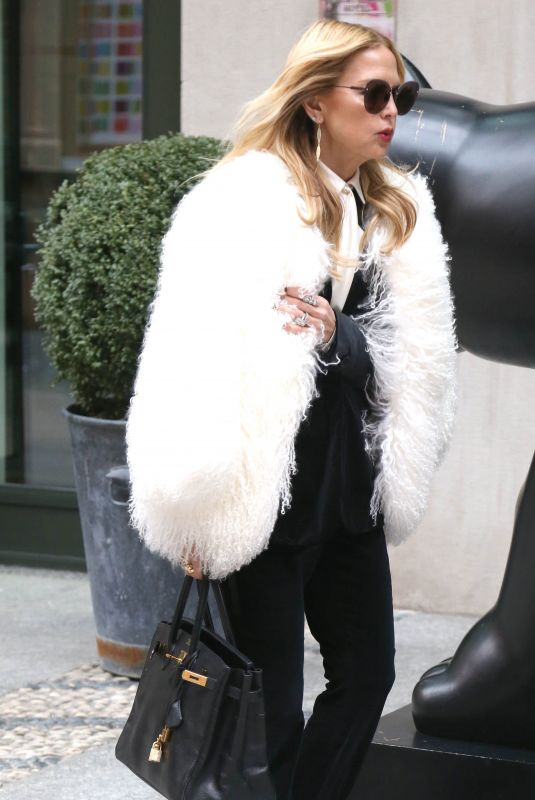 RACHEL ZOE Out at New York Fashion Week 02/09/2018