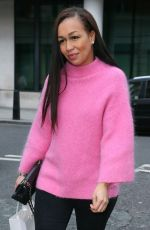 REBECCA FERGUSON Arrives at BBC Radio in London 02/02/2018