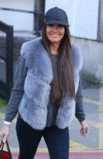 REBEKAH VARDY Leaves ITV Studios in London 02/22/2017