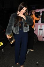 REBEKAH VARDY Night Out in Notting Hill 02/02/2018