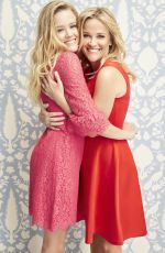 REESE WITHERSPOON and AVA PHILLIPPE for Draper James Valentine