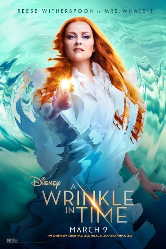 REESE WITHERSPOON and GUGU MBATHA – A Wrinkle in Time Movie Posters and Stills