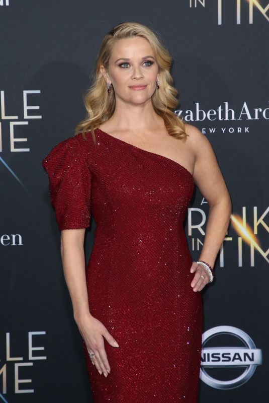 REESE WITHERSPOON at A Wrinkle in Time Premiere in Los Angeles 02/26/2018