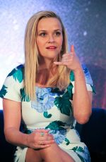 REESE WITHERSPOON at A Wrinkle in Time Press Conference in Los Angeles 02/25/2018