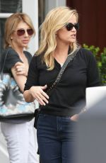 REESE WITHERSPOON Out for Lunch in Brentwood 01/30/2018