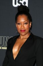 REGINA KING at Unsolved the Murders of Tupac and the Notorious B.I.G. Premiere in Los Angeles 02/22/2018