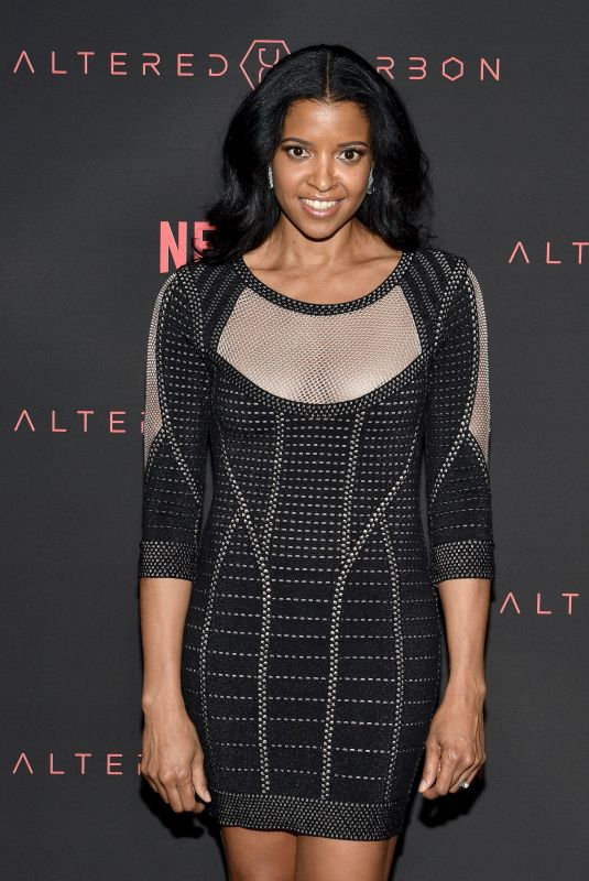 RENEE ELISE GOLDSBERRY at Altered Carbon Premiere in Los Angeles 02/01/2018