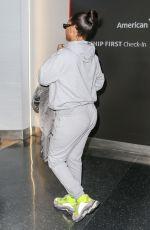 RIHANNA at JFK Airport in New York 01/27/2018
