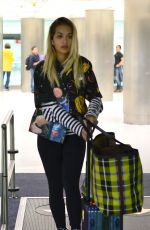 RITA ORA Arrives at Airport in Miami 02/23/2018