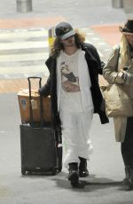 RITA ORA Arrives at Heathrow Airport in London 02/13/2018