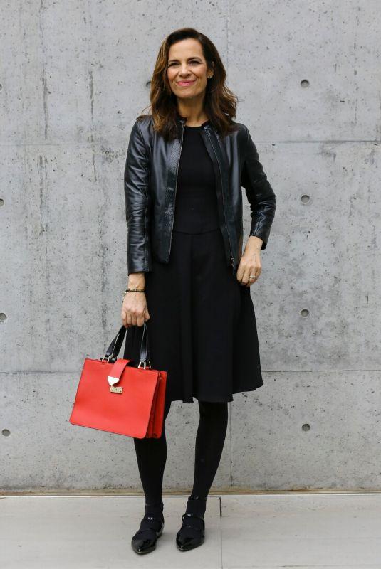 ROBERTA ARMANI at Emporio Armani Fashion Show at MFW in Milan 02/25/2018