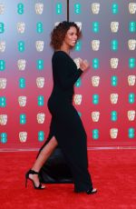 ROCHELLE HUMES at BAFTA Film Awards 2018 in London 02/18/2018