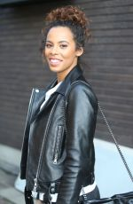 ROCHELLE HUMES at ITV Studios in London 02/06/2018