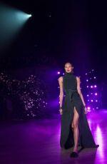 ROMEE STRIJD at Brandon Maxwell Runway Show at New York Fashion Week 02/11/2018