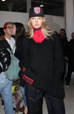 ROMEE STRIJD at V Magazine Wardements Pop-up Shop in New York 02/12/2018