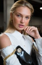 ROMEE STRIJD on the Runway of Ralph Lauren in New York 02/12/2018