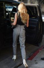 ROMEE STRIJD Out Shopping in Beverly Hills 02/06/2018