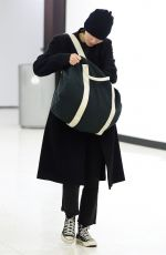 ROONEY MARA at JFK Airport in New York 02/23/2018
