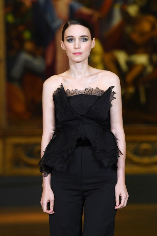 ROONEY MARA at Mary Magdalene Screening at National Gallery in London 02/26/2018