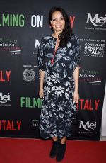 ROSARIO DAWSON at Social Justice Filming in Italy Awards in Los Angeles 02/02/2018