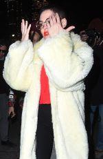 ROSE MCGOWAN Arrives at Trevor Noah Show in New York 02/01/2018