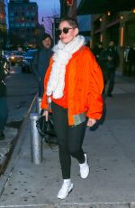 ROSE MCGOWAN Out and About in New York 01/31/2018