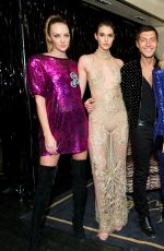 ROSIE HUNTINGTON-WHITELEY at Bergdorf Goodman x Dundas Party at New York Fashion Week 02/09/2018