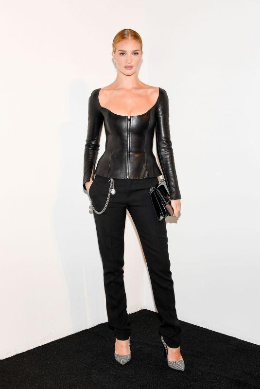 ROSIE HUNTINGTON-WHITELEY at Ralph Lauren Show at New York Fashion Week 02/12/2018