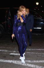 ROSIE HUNTINGTON-WHITELEY Leaves Her Hotel in New York 02/09/2018