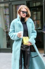 ROSIE HUNTINGTON-WHITELEY Out and About in New York 02/09/2018