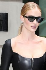 ROSIE HUNTINGTON-WHITELEY Out in New York 02/12/2018