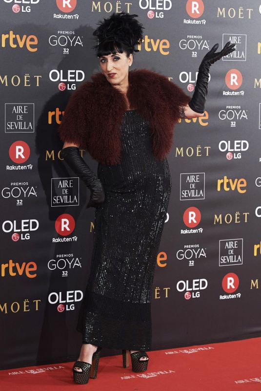 ROSSY DE PALMA at 32nd Goya Awards in Madrid 02/03/2018