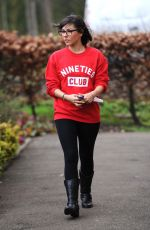 ROXANNE PALLETT Out and About in Yorkshire 02/23/2018