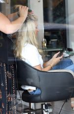ROXY JACENKO Leaves Tony&guy Hair Salon in Sydney 02/10/2018