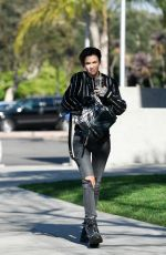 RUBY ROSE Out and About in Santa Monica 01/31/2018