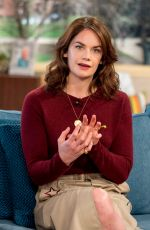 RUTH WILSON at This Morning Show in London 02/23/2018