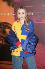 SABRINA CARPENTER at Tommy Hilfiger Fashion Show in Milan 02/25/2018