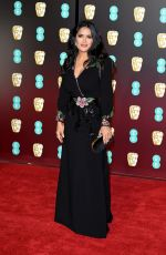 SALMA HAYEK at BAFTA Film Awards 2018 in London 02/18/2018