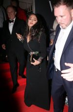 SALMA HAYEK at Vogue x Tiffany & Co Bafta Afterparty in London 02/18/2018