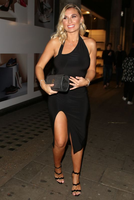 SAM FAIERS Arrives at Valentine's Party at Libertine Nightclub in London 02/08/2018