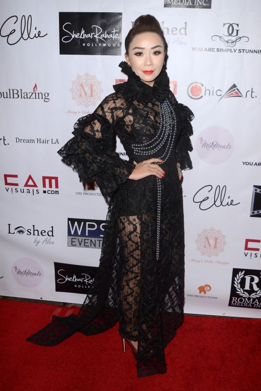 SAM NGUYEN at 4th Annual Roman Media Pre-Oscars Event in Hollywood 02/26/2018