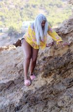 SANDI BOGLE at a Beach in Benidorm 02/11/2018
