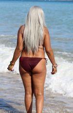 SANDI BOGLE in Bikini at a Beach in Benidorm 02/07/2018