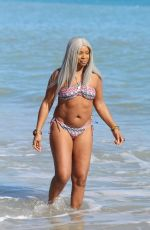 SANDI BOGLE in Bikini on the Beach in Benidorm 02/03/2018