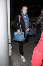 SAOIRSE RONA at LAX Airport in Los Angeles 02/22/2018