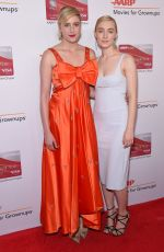 SAOIRSE RONAN and GRETA GERWIG at Aarp Magazine's Movies for Grownups Awards in Los Angeles 02/05/2018