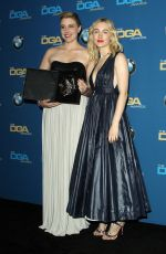 SAOIRSE RONAN at 2018 Directors Guild Awards in Los Angeles 02/03/2018
