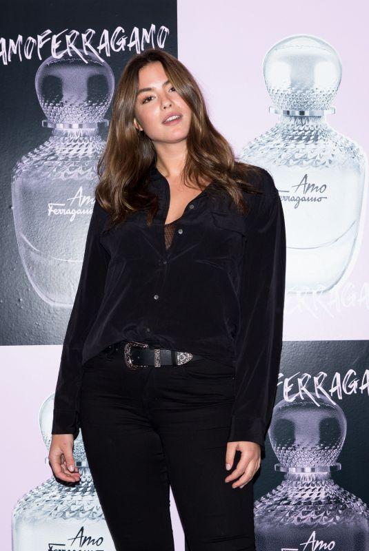 SARA GHAZANFAREEON at Amo Ferragamo Hosted by Suki Waterhouse at New York Fashion Week 02/06/2018