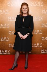 SARAH FERGUSON at Mary Magdalene Screening at National Gallery in London 02/26/2018